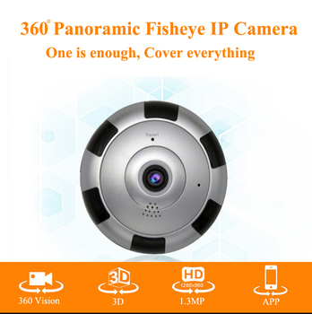 1.3MP 960P 3D VR IP Camera Wifi Night Vision Fisheye Baby Monitor Panorama Wireless CCTV Smart Camera Security P2P APP View