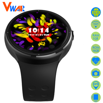 Android smart watch telefoon 1 gb ram 16 gb rom bluetooth smartwatch z10 heartrate monitor horloge gps wifi camera voor ios android