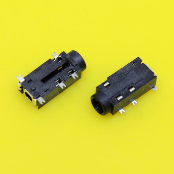 Au-076 Tablet Telefoon 3.5 Hoofdtelefoonaansluiting PJ-381 5 SMD Type 3.5 MM Auido Video Jacks met Kolom 3.5 MM Connectors