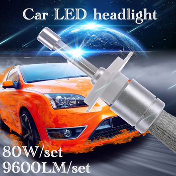 Auto LED Koplamp voor Alfa Romeo adillac Buick Chrysler Citroen Chevrolet 9600LM 80 W 9004 9005 9006 9012 H1 H3 H4 H7 H11 H13