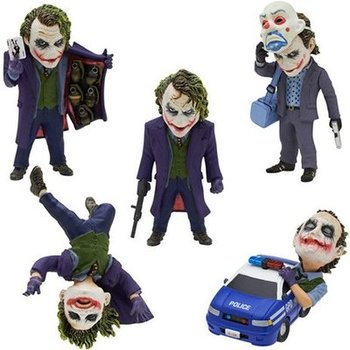 De Dark Knight Joker 5 stks/set PVC Action Figure Collectible Model Speelgoed 6 ~ 10 cm KT2467