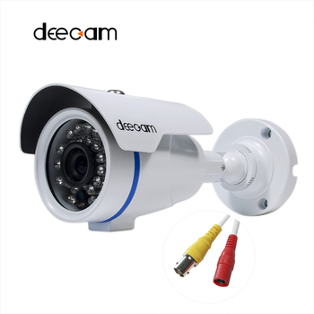 Deecam AHD Camera 1280*720 P 1200TVL Cctv Home Video Surveillance HD 1MP Outdoor iR Cut Lens 3.6 MM Camaras De Seguridad