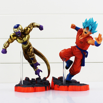 Dragon Ball Z Actiefiguren Opstanding F Super Saiyan Goku Golden Freeza Vechten Dragonball Z Figuur Speelgoed Pop