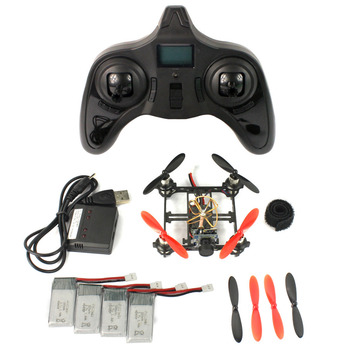Feichao mini tiny qx80 fpv diy drone met 5.8g 25 mw camera 80mm Carbon Geborsteld Indoor RC Quadcopter RTF Monteren Kit Volledige Set