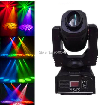 Free verzending led 60 w spot light/dmx stage spot moving head licht/8 gobos effect spotlicht/disco dj verlichting/led patroon lamp