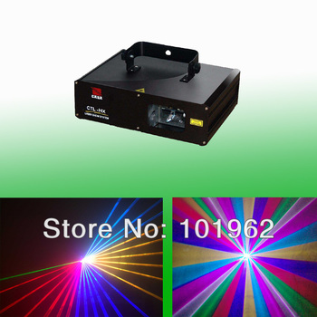 Full Color 1 W RGB Laser Projector Stage Light DJ Dance Party Verlichting