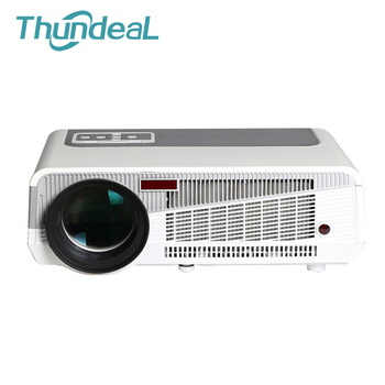 Full HD LCD Wifi LED86 + W LED Projector projector Android 4.4 projector Beamer 2800 lumen 3D projectoren business projectie
