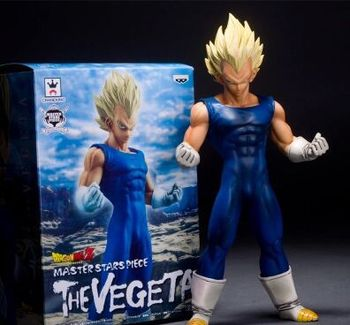 "Gratis Verzending Anime Dragon Ball Z Super Saiyan Vegeta PVC Action Figure Collection Model Toy 10 ""25 CM Brinquedos"