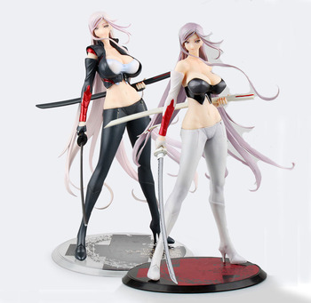 Gratis Verzending Sexy Triage X Sagiri Yuko Orchidee Zaad Blacklaber Orochi Cast Off Boxed PVC Action Figure Collection Model Pop speelgoed