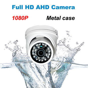 HD 1080 P metalen AHD camera met IR-CUT filter waterdicht Outdoor nachtzicht Dome Camera 24 IR LED cctv systeem