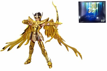 In voorraad Boogschutter Aiolos TV OCE GOLD Saint Seiya S-tempel METALEN CLUB model Mythe EX Gold Saint Metalen