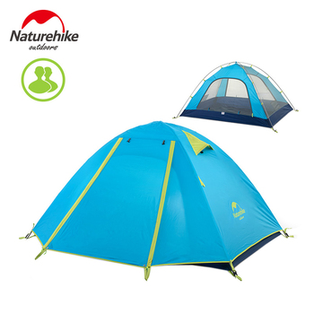 Naturehike 2-3-4 persoon outdoor dubbellaags tent regendicht winddicht camping tent nh15z003-p