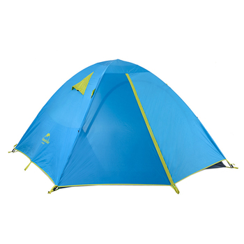 Naturehike 3 Persoon Camping Tent Outdoor Familie Tent Dubbele Laag Waterdichte Tent NH16S003-S