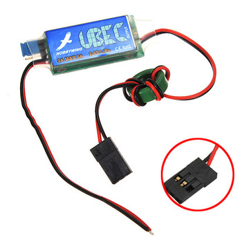 Nieuwe 1 STKS HWBEC Hobbywing 3A UBEC 5 V 6 V max 5A Laagste RF Noise WORDEN Voor RC Vliegtuig Helicopter Modellen