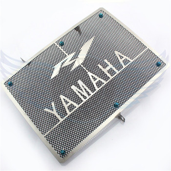Nieuwe stijl motorfiets rvs radiator cover protector grille guard protector voor yamaha 2004 2005 2006 yzf r1 04 05 06