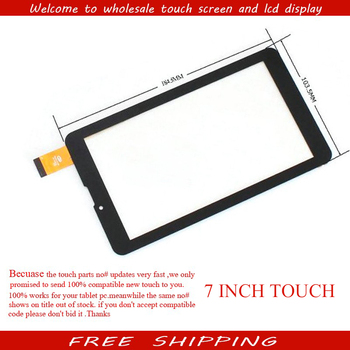 "Nieuwe Touchscreen Digitizer Glas Sensor Panel Vervanging MT261 287 Voor 7 ""BQ 7054G, 7056G, 7000 BQ 7061G 7063G 3G Tablet"