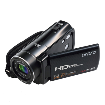 Ordro Digitale Video Camera HDV-V7 1080 P 30fps FHD Camcorder met Afstandsbediening Hdmi-uitgang 3.0 Inches Lcd-scherm