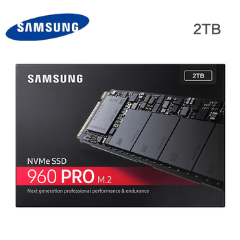 Samsung 960 pro 2 tb m.2 ssd solid state harde schijf nvme mz-v6p2t0z 960 pro nvme ssd 2 tb