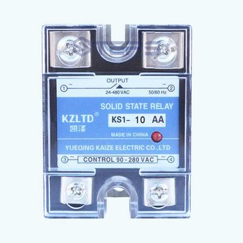 Solid-state non-contact relais AC controle AC motor waterpomp schakelaar controle 10A 220 V