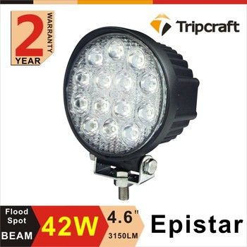 Tripcraft ping! 2 stks 4 Inch 42 W LED Bar voor Offroad Truck Zware Ruck Boot Ute auto SUV ATV 4WD 12 V 24 V