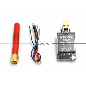 TS1727 5.8G 25 mW 600 mW Schakelbare 48CH AV Zender Module voor Multi-rotors Quadcopter RC FPV Racing Frame Quadcopter