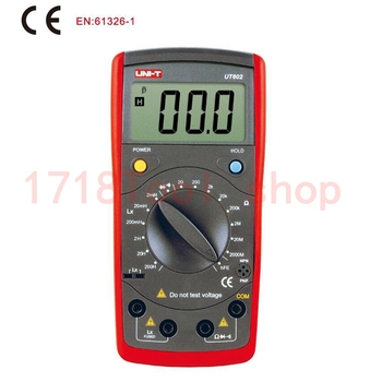 Uni T Ut602 Digitale Moderne Professionele Inductantie Meter Testers Lr Ohmmeter W Hfe Test & Data Hold