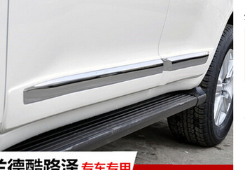 Voor Toyota Land Cruiser 200 2008-2016 Chrome Body Side Zierstab Trim Kits Chroom Auto Styling Accessoires