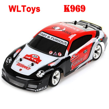 Wltoys K969 1/28 high-speed 4CH 4wd 2.4 ghz geborsteld rc rally auto rtr