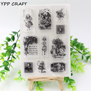 YPP CRAFT 1 vel DIY Uitdrukking Phrase Scrapbooking Decoratie Transparante Rubber Stempel Seal Papier Craft